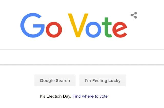 Google can tell you how and where to vote on Election Day