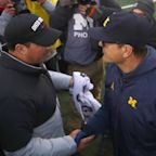Rivalry Rage: Ohio State and Michigan Football Coaches Fight on Big 10 Call