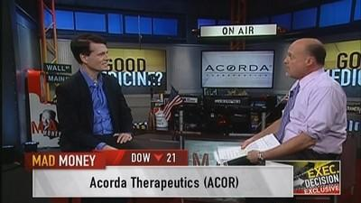 Acorda CEO: Filed for approval of Diazepam nasal spray