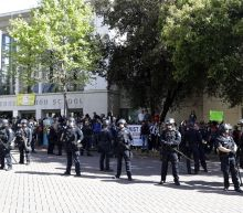 Berkeley praises police for keeping peace at Coulter rallies