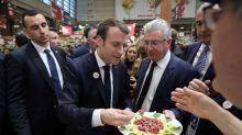 Salon de l'agriculture: Emmanuel Macron est carnivore, mais trouve les flexitariens «intelligents»