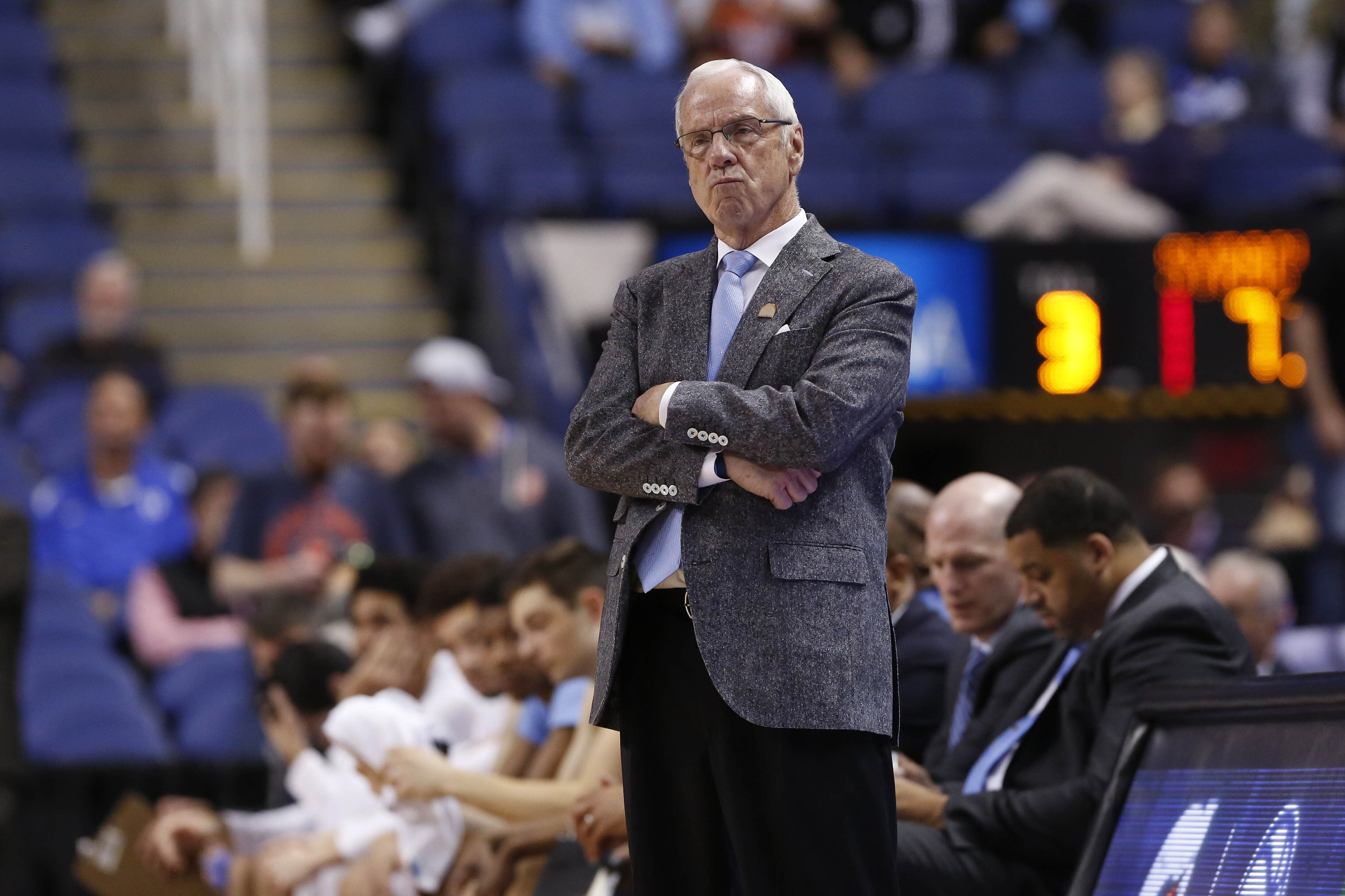 After UNC's complaint, Twitter takes down Eric Trump's doctored Roy Williams video thumbnail