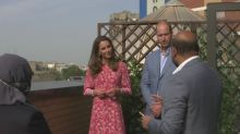 Duke and Duchess of Cambridge visit East London Mosque