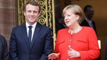 Budget de la zone euro: Macron met la pression sur Merkel