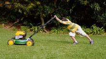 Lawn Mowers Are Sending 13 Kids to the Hospital Every Day