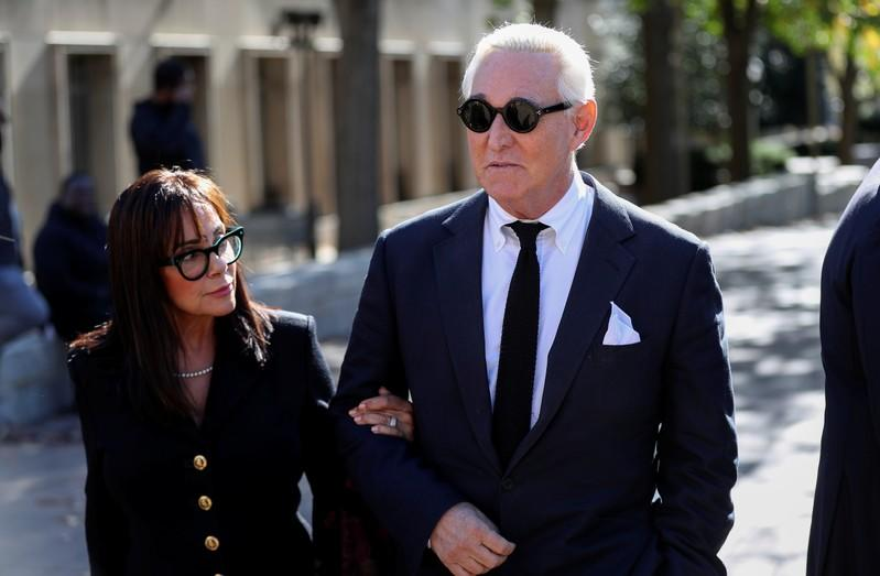 Jury selected for longtime Trump adviser Roger Stone's trial