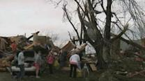 Tornadoes, Hail Hit Midwest