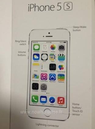Alleged iPhone 5S render shows new home button / 'Touch ID sensor'