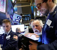 Stock market news live: Stocks close at records after strong data, earnings