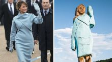 The bizarre Melania Trump statue dividing the first lady's hometown