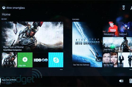 Xbox One SmartGlass hands-on (video)