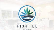 High Tide Acquires Retail Cannabis Store in Saskatchewan