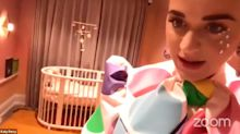 Pregnant Katy Perry Shares First Look at Her Baby Girl's Nursery and Adorable Orlando Bloom Onesie