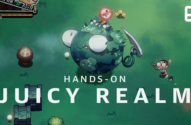 Slaughter sentient fruit to save humanity in 'Juicy Realm'