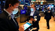 Stock market news live updates: Dow adds 279 points, or 0.8%, to rise for the first time in three sessions as strong earnings outweigh virus jitters