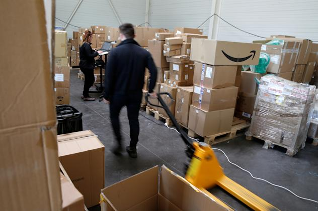 Amazon's French warehouses will remain closed until May 5th