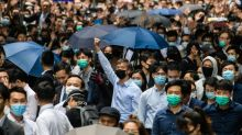 Anger, guilt stir Hong Kong's white collar rebels