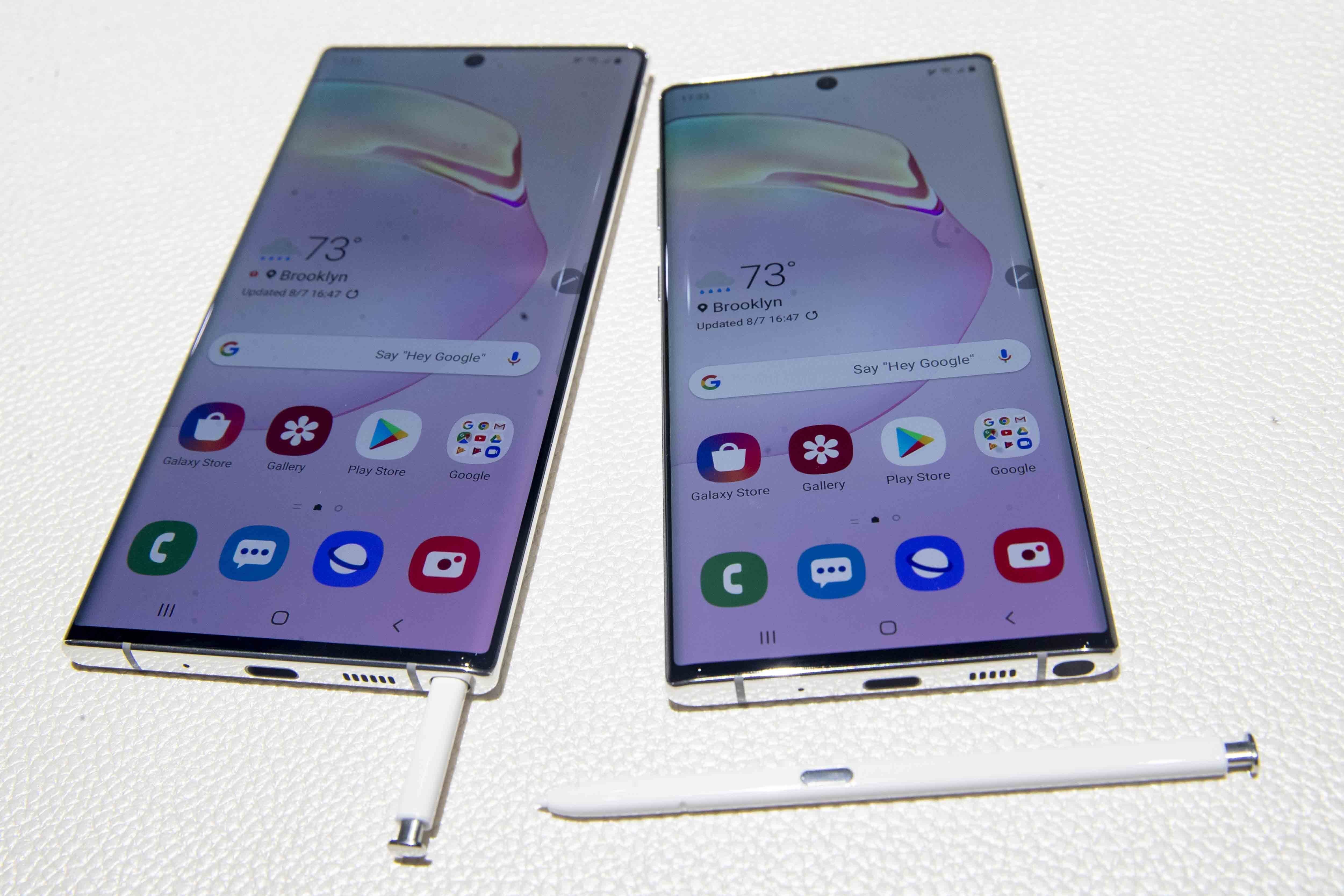 'Any fingerprint' can unlock Samsung's Galaxy 10 device, company say