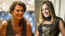 Susana Vieira manda beijo para Ieda, e ex-BBB comemora na web