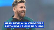 Lionel Messi confirma su continuidad en el Barça y ahora irá a por nuevos récords