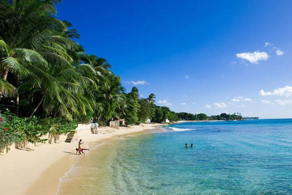 """<p>Although June marks the official transition between the dry and wet season in Barbados, this month rarely sees significant or prolonged rainfall. Average temperatures hover at a balmy 26C and there's plenty of guaranteed sunshine to go around. Take advantage of the prices during this 'low season'. <strong>Try this:</strong> <a href=""""http://caribbeanwarehouse.co.uk/hotels/barbados/turtle_beach.php"""" target=""""_blank"""">Blue Bay Travel</a> offers an all-inclusive seven-night holiday at Turtle Beach by Elegant Hotels for a family of four from £4,299 in June, including flights from Manchester.</p>"""