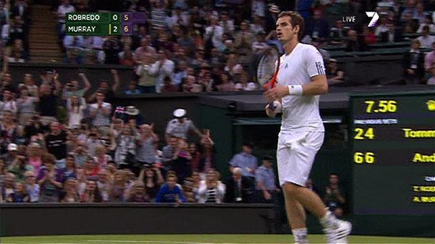 Highlights: Wimbledon day five