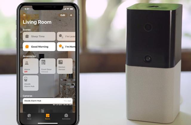 Abode's DIY home security system is now compatible with HomeKit