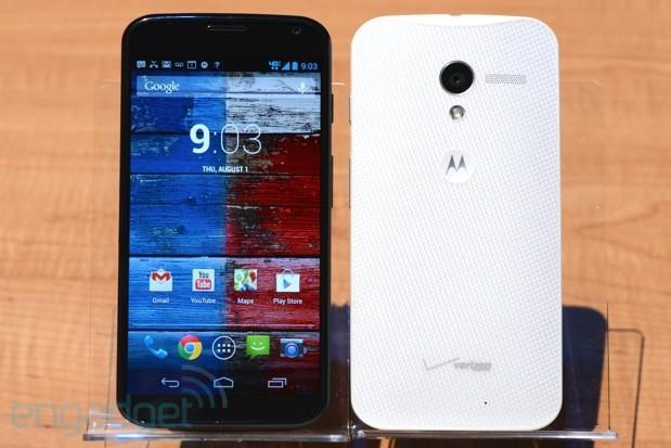 Moto X finally official: Motorola X8, 4.7-inch 720p AMOLED, custom finishes, assembled in the USA from $199