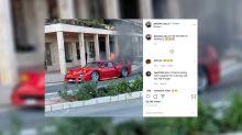 Ferrari F40 Catches Fire On Streets Of Monaco