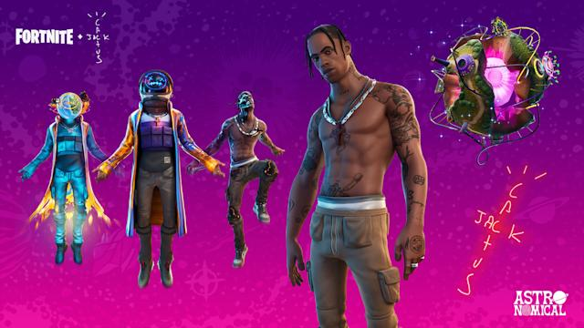 Travis Scott's 'Fortnite' concert drew 12.3 million concurrent viewers