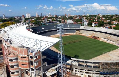 Cerro Porteño emitió un comunicado sobre las obras suspendidas en su estadio
