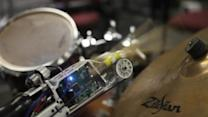 Cyborg prosthetic lets drummer find his rhythm