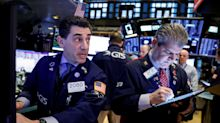 US STOCKS-Wall St bogged down by China virus fears, Intel limits losses