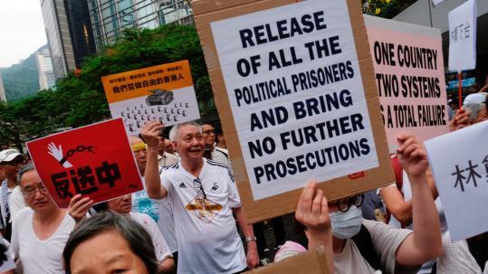 Its Not Just Demonstrators Saying >> Hong Kong Crisis Escalates After Mob Attack On Protesters