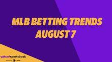 Yahoo Sports' MLB betting trends: Aug 7