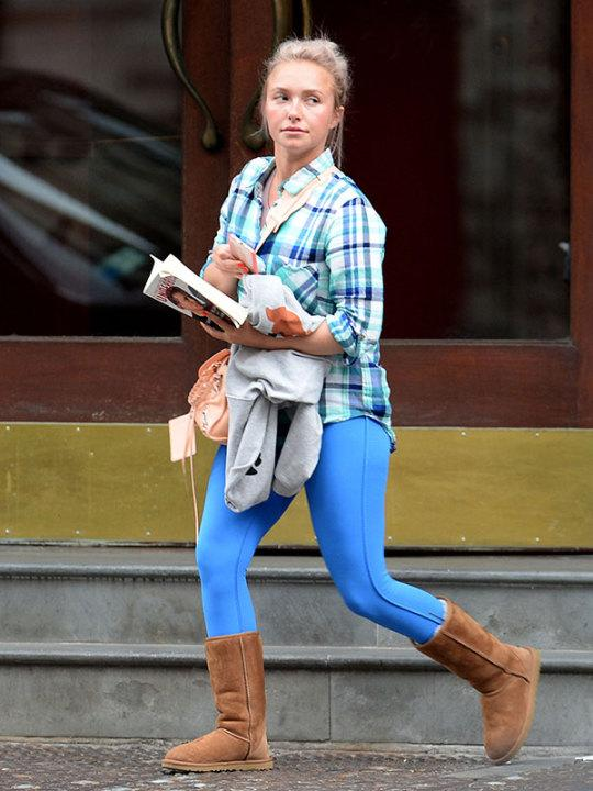 Hayden Panettiere Steps out Without Her Engagement Ring After Seeking Help for Postpartum Depression