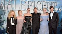 'Maleficent' Premiere: Elle Fanning and More on Their First Kiss