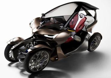 Yamaha 最新專利圖曝光!四輪可「壓」概念車有望量產