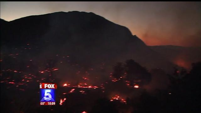 Wildfire Burns Near Julian, Forces Evacuations
