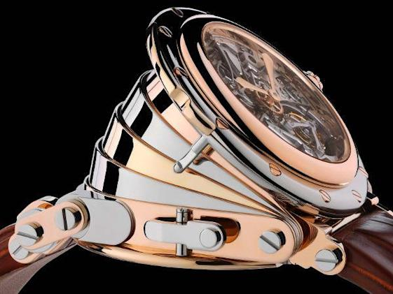 Manufacture Royale debuts $1.2 million Opera accordion watch, Sir Steampunk scoffs