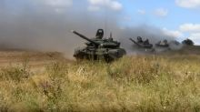 Russia and China launch biggest war games in decades in veiled threat to the West
