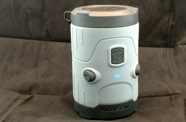 Scosche boomBOTTLE H2O waterproof Bluetooth speaker perfect for summer fun