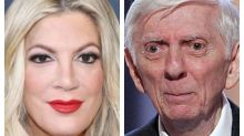 Tori Spelling remembers dad on his birthday, reminds Instagram crowd he was a TV titan
