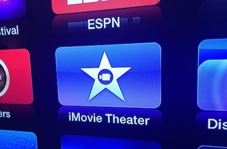 iMovie Theater channel added to the Apple TV