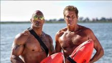 David Hasselhoff Is Back in 'Baywatch' Mode With Dwayne Johnson