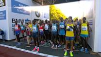 Wilson Kipsang smashes marathon world record by 15 seconds