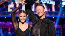 """Stacey Dooley says she is """"so happy"""" as she speaks about relationship with """"amazing"""" Kevin Clifton"""