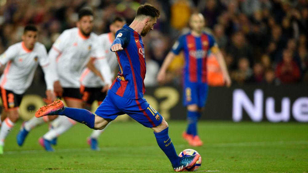 Primera Division, 28. Spieltag: Barca fertigt Valencia ab, Real Madrid siegt knapp