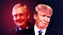 Trump's coup is morphing into a grift — but Mitch McConnell sees it as a power grab