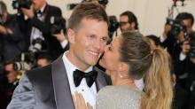 Tom Brady and Gisele Bundchen Pack on the PDA on Met Gala Red Carpet